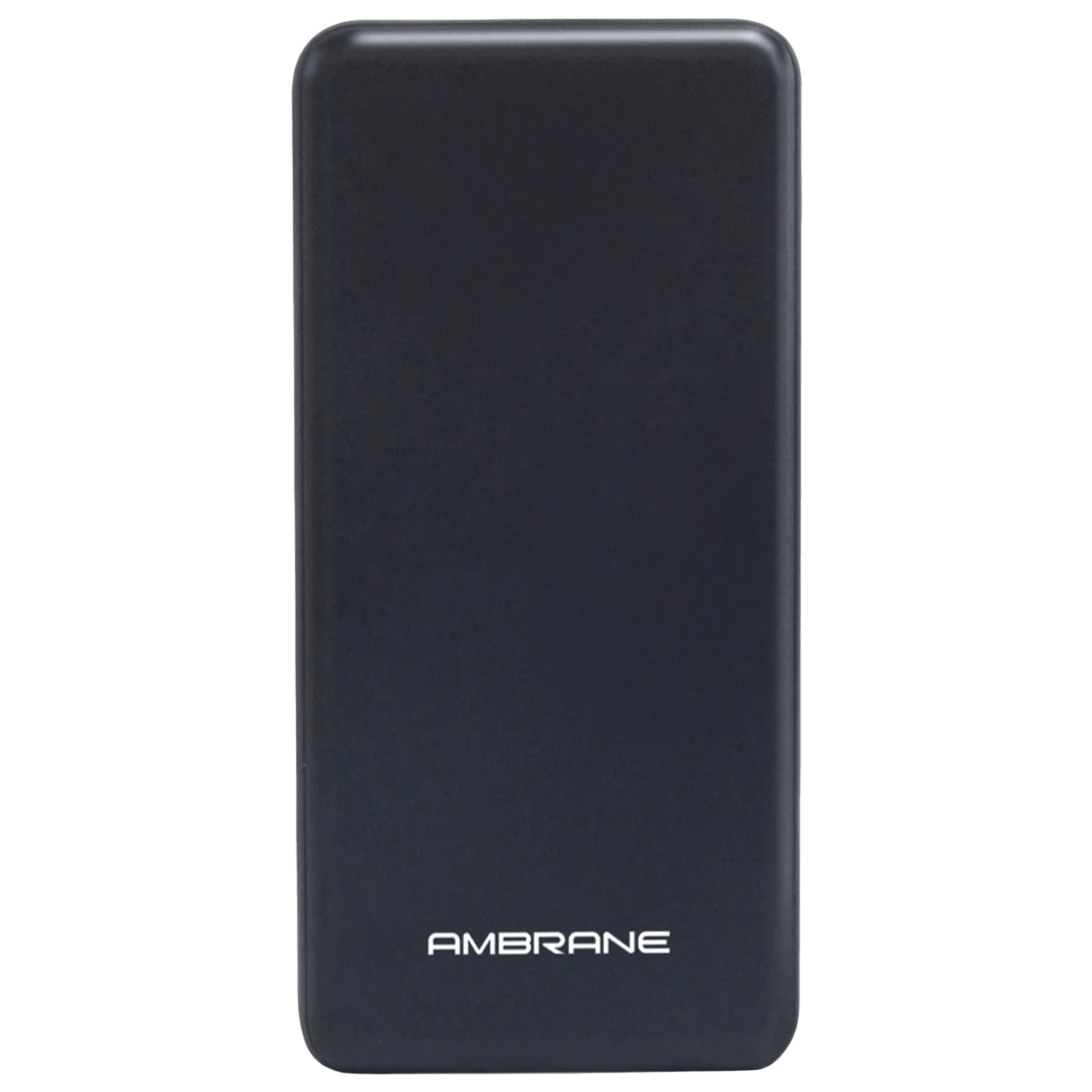 Ambrane 10000mAh 2-Port Power Bank (Over Charge Protection, PP128, Black)