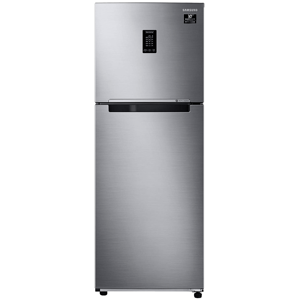 Samsung 336 Litres 3 Star Frost Free Digital Inverter Double Door Refrigerator (Curd Maestro, 5-in-1 Convertible Mode, RT37A4633S8/HL, Elegant Inox)