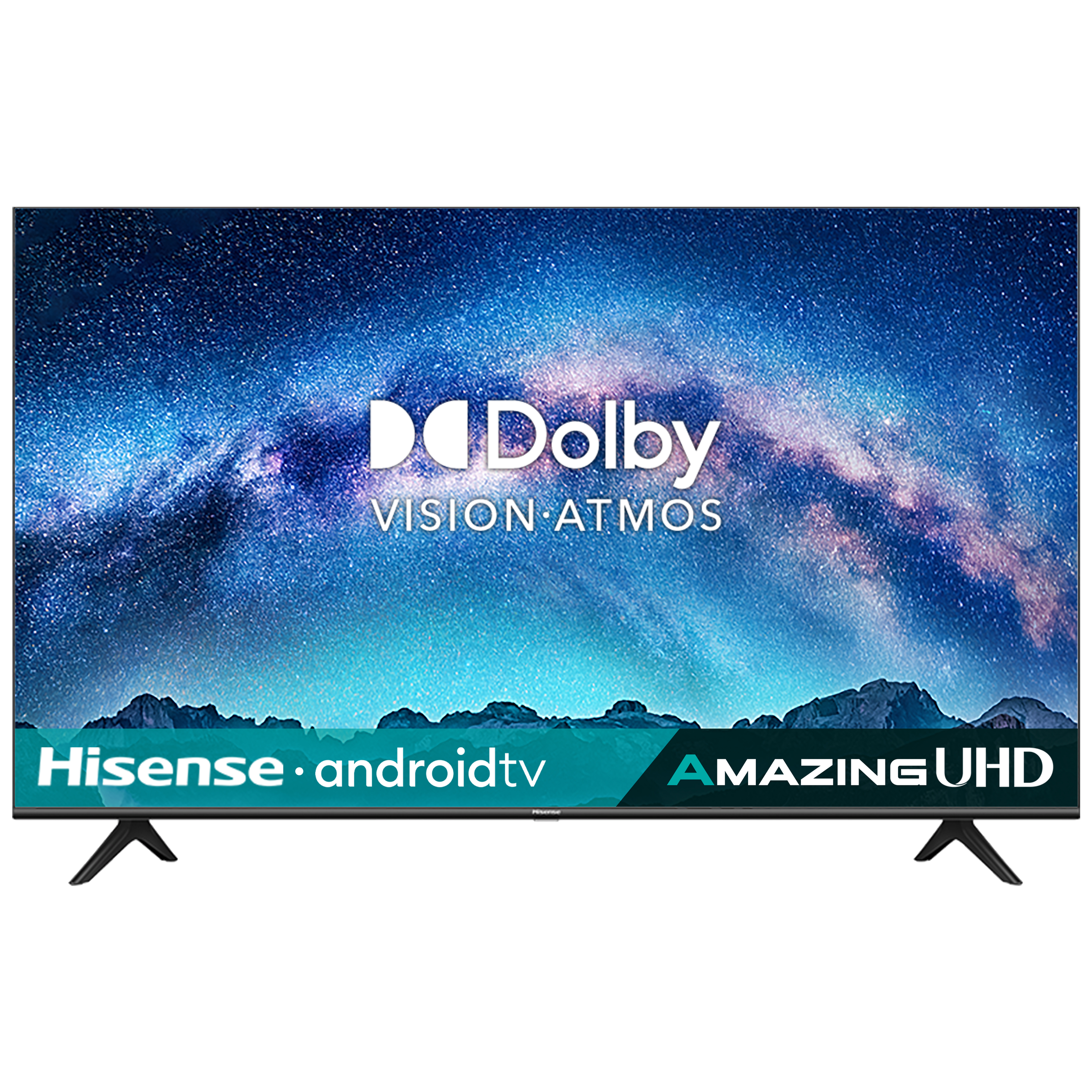 Hisense A71 Series 146cm (58 Inch) Ultra HD 4K LED Android Smart TV (3 Years Warranty, Built-in Chromecast, 58A71F, Black)