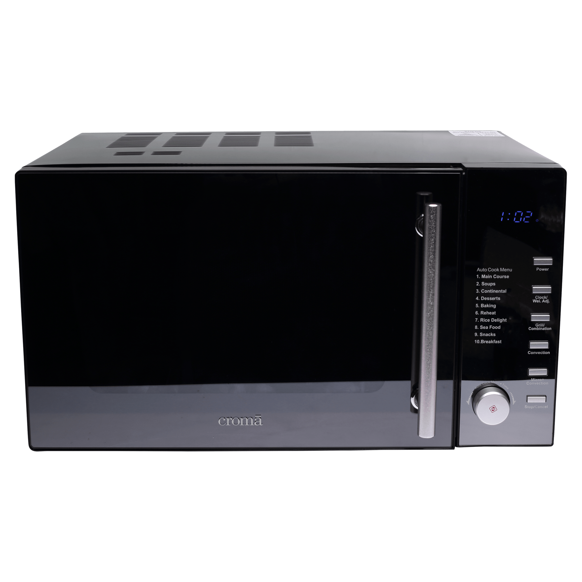 Croma CRAM0191 25 Litres Convection Microwave Oven (Black)