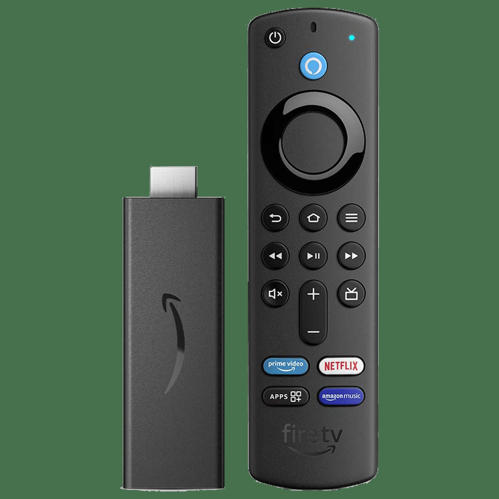 Amazon Fire TV Stick 3rd Gen with Alexa Voice Remote (Quad Core Processor, B08C1KQRR5, Black)