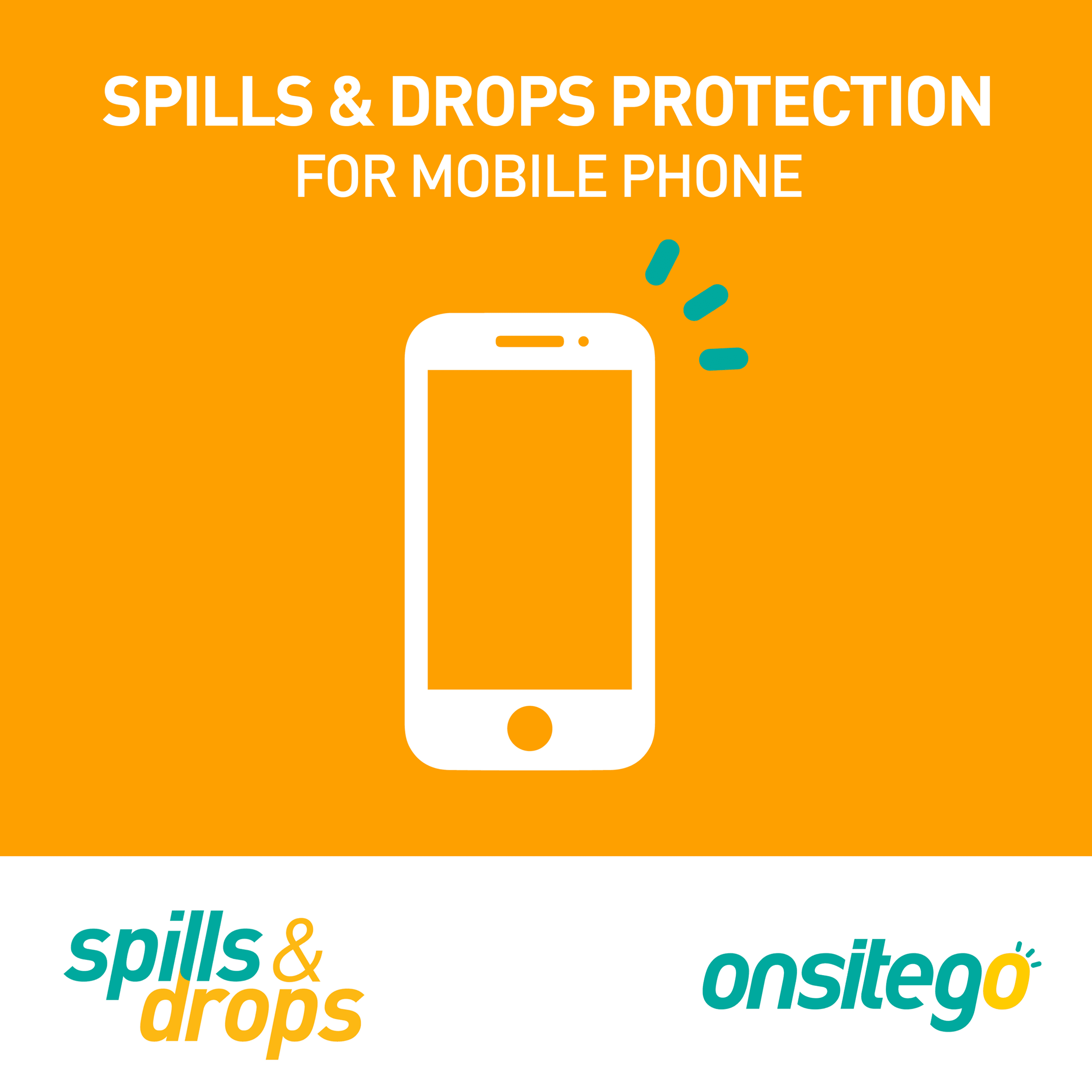 Onsitego 1 Years Spills & Drop Protection Plan For Mobiles (Rs.5000-Rs.10,000, No Paperwork)