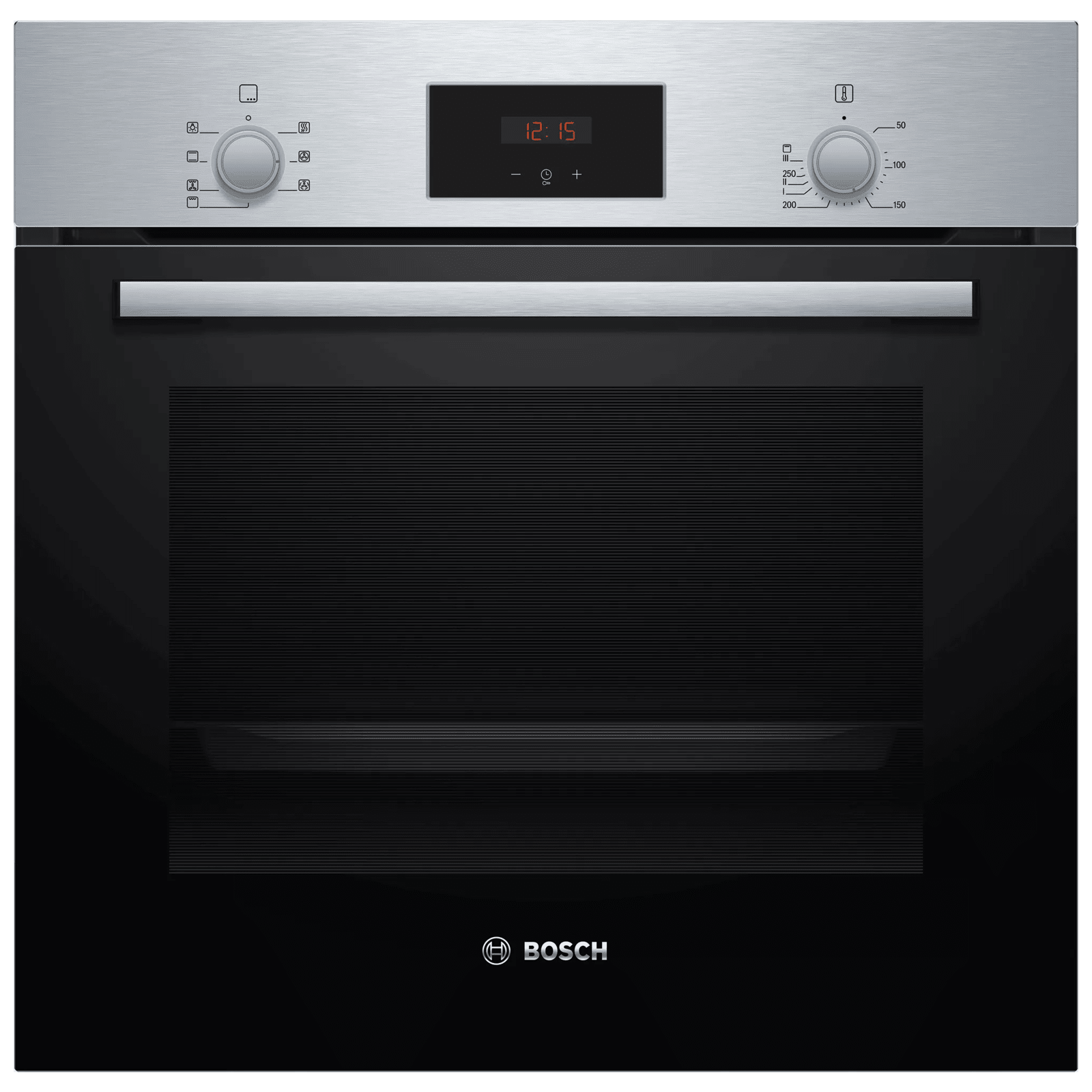 Bosch Serie 2 66 Litres Built-in Microwave Oven (Rapid Heating-Up, HBF113BR0Z, Stainless Steel)