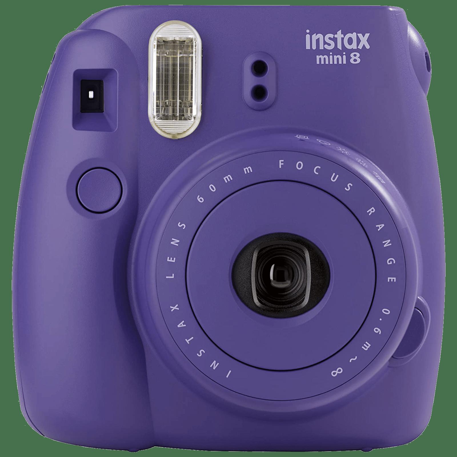 Fujifilm Instax Mini 8 Instant Camera (CMOS Sensor, 16443840, Grape)