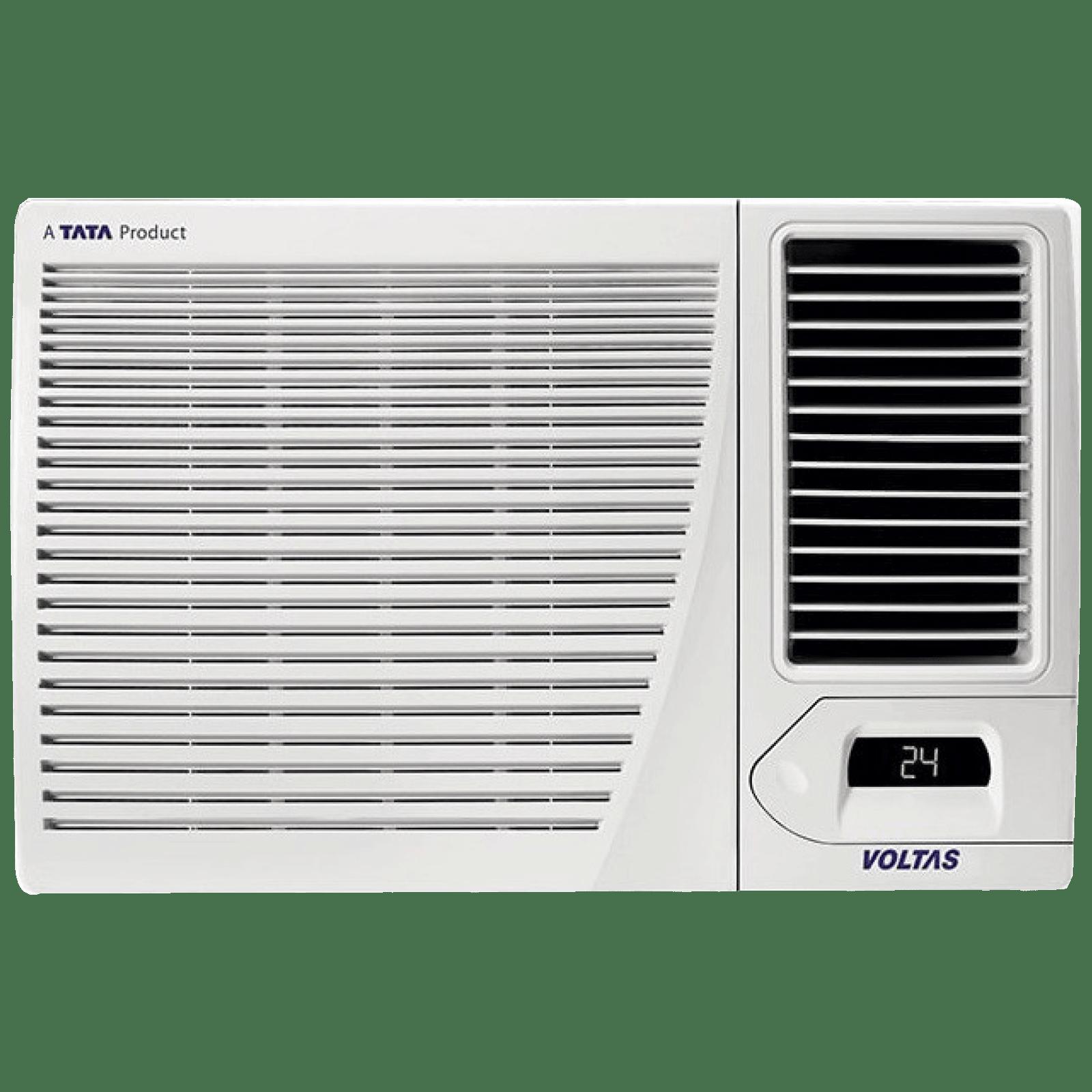 Voltas 1.5 Ton 3 Star Inverter Window AC (Hot and Cold, Copper Condenser, 18H CZP, White)