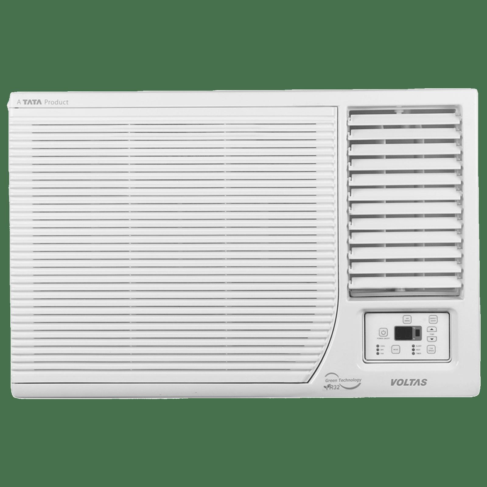 Voltas 1.5 Ton 3 Star Inverter Window AC (Hot and Cold, Copper Condenser, 18H DZB, White)