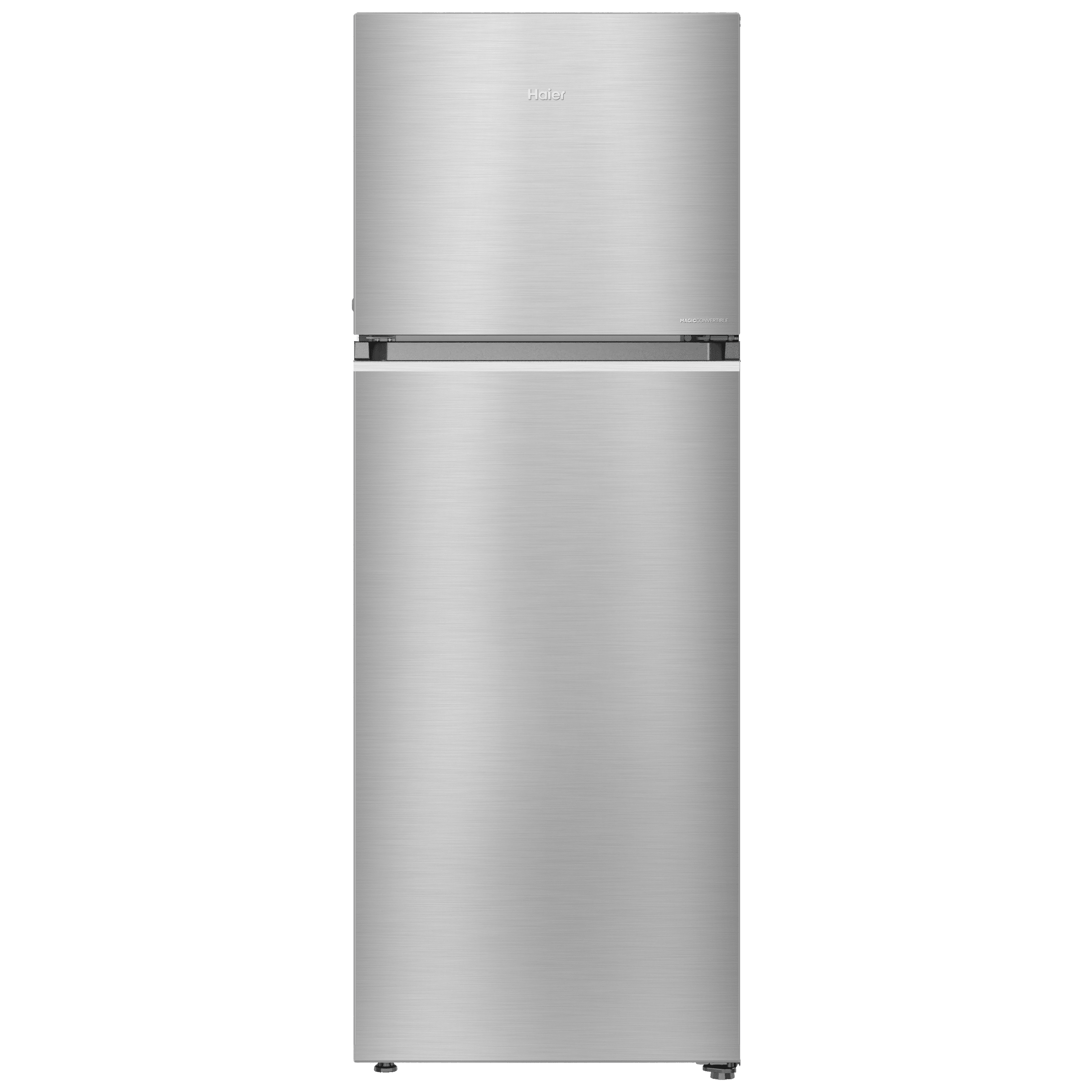 Haier Magic Convertible 345 Litres 3 Star Frost Free Triple Inverter Double Door Refrigerator (10-in-1 Convertible Mode, HRF-3654CIS-E, Inox Steel)