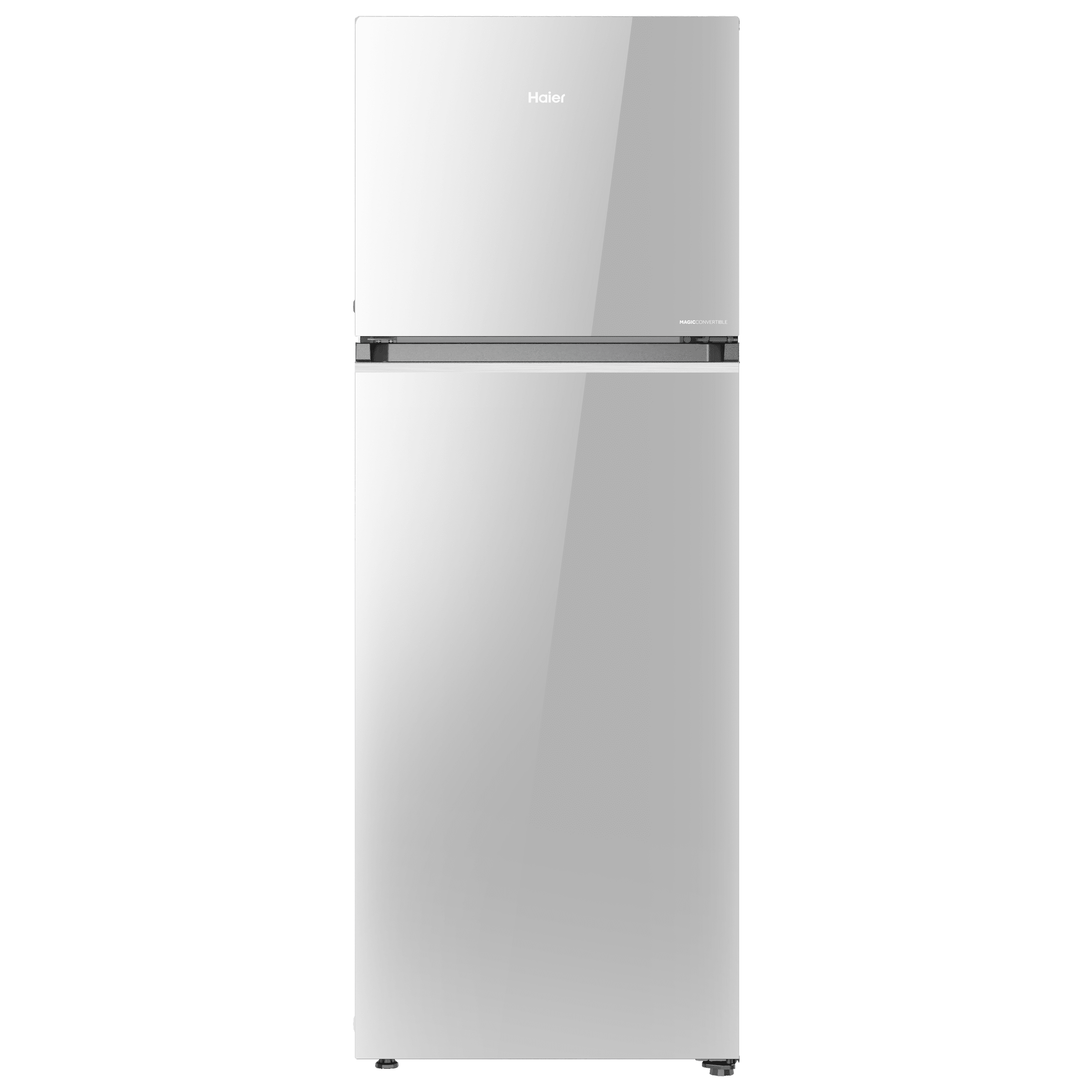 Haier Magic Convertible 375 Litres 3 Star Frost Free Triple Inverter Double Door Refrigerator (10-in-1 Convertible Mode, HRF-3954PMG-E, Mirror Glass)