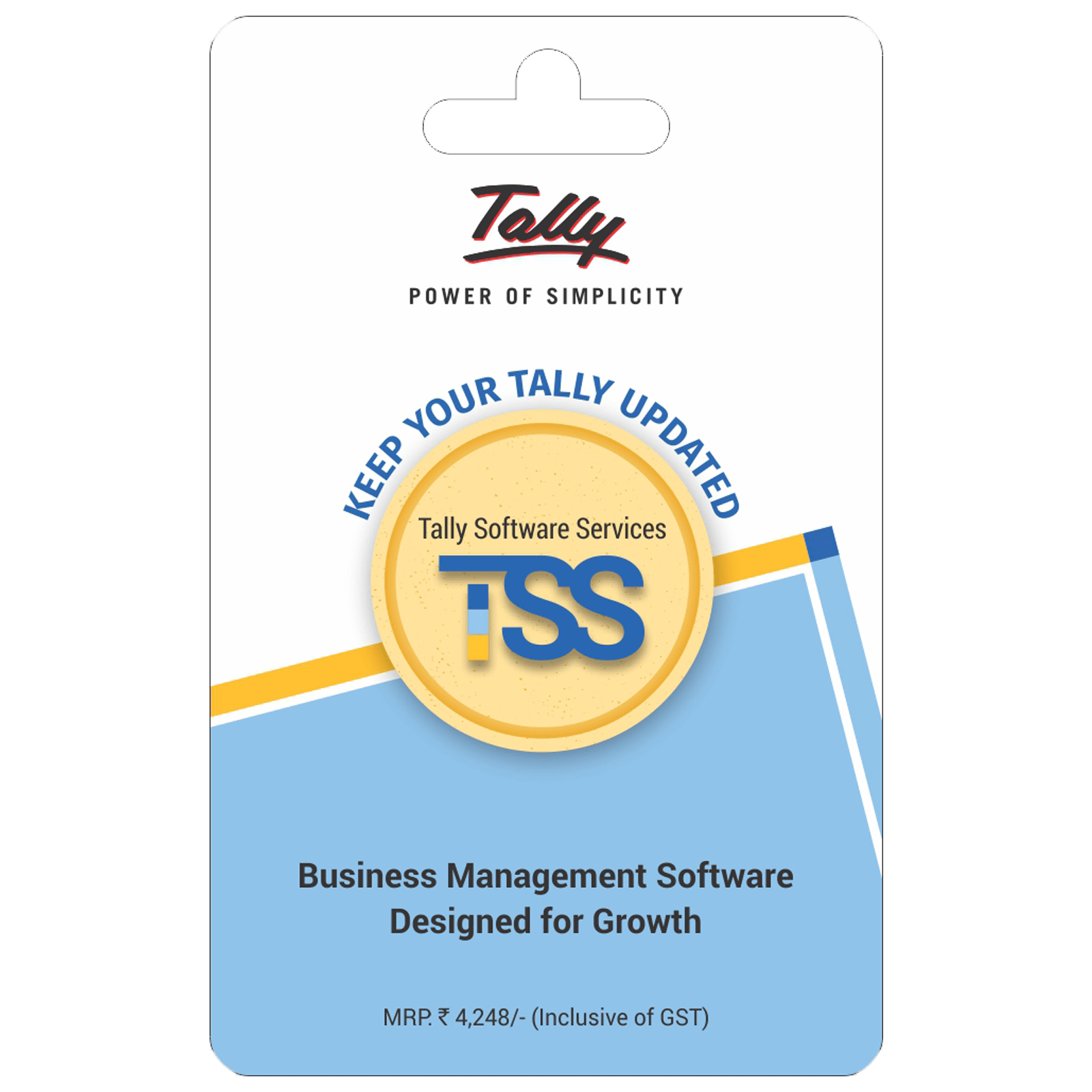 Tally Software Subscription For PC (1 Devices, 1 Year)