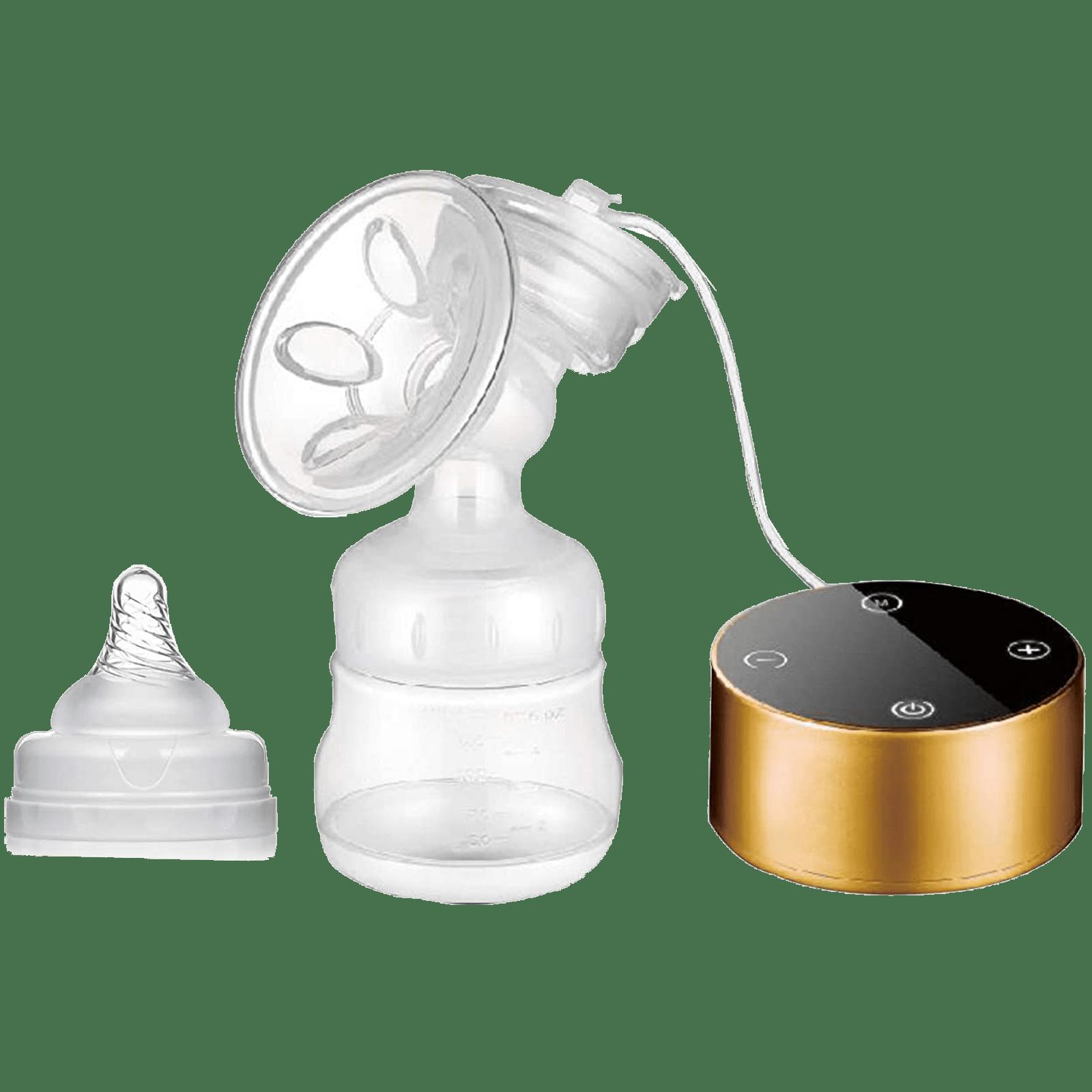 Dr. Odin Breast Pump (100 Percent Sterilisable, OD-302, Gold)