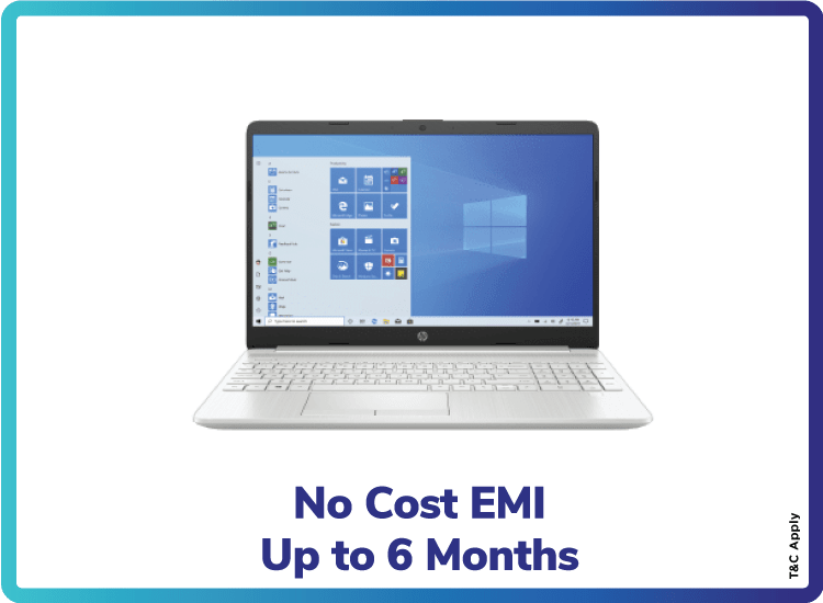 No Cost EMI Up to 6 Months