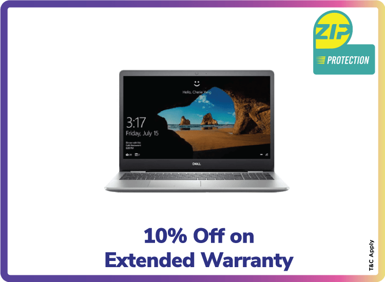 10% off on Extended Warranty