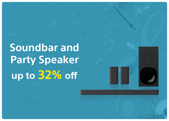 Soundbar and Party Speaker