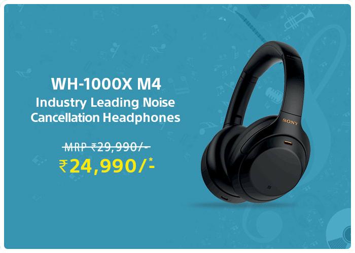 Noise cancellation Headphones