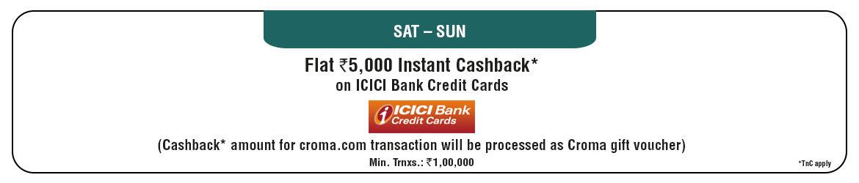 ICICI Cashback Offer