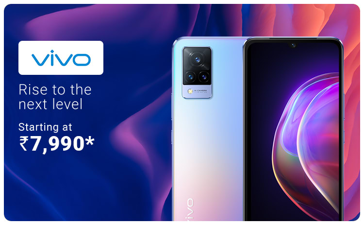 Vivo Mobile Starting at 7,990