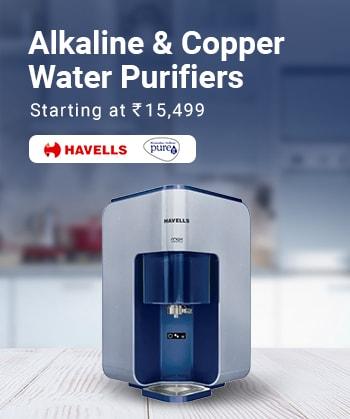 Alkaline & Copper Water Purifiers