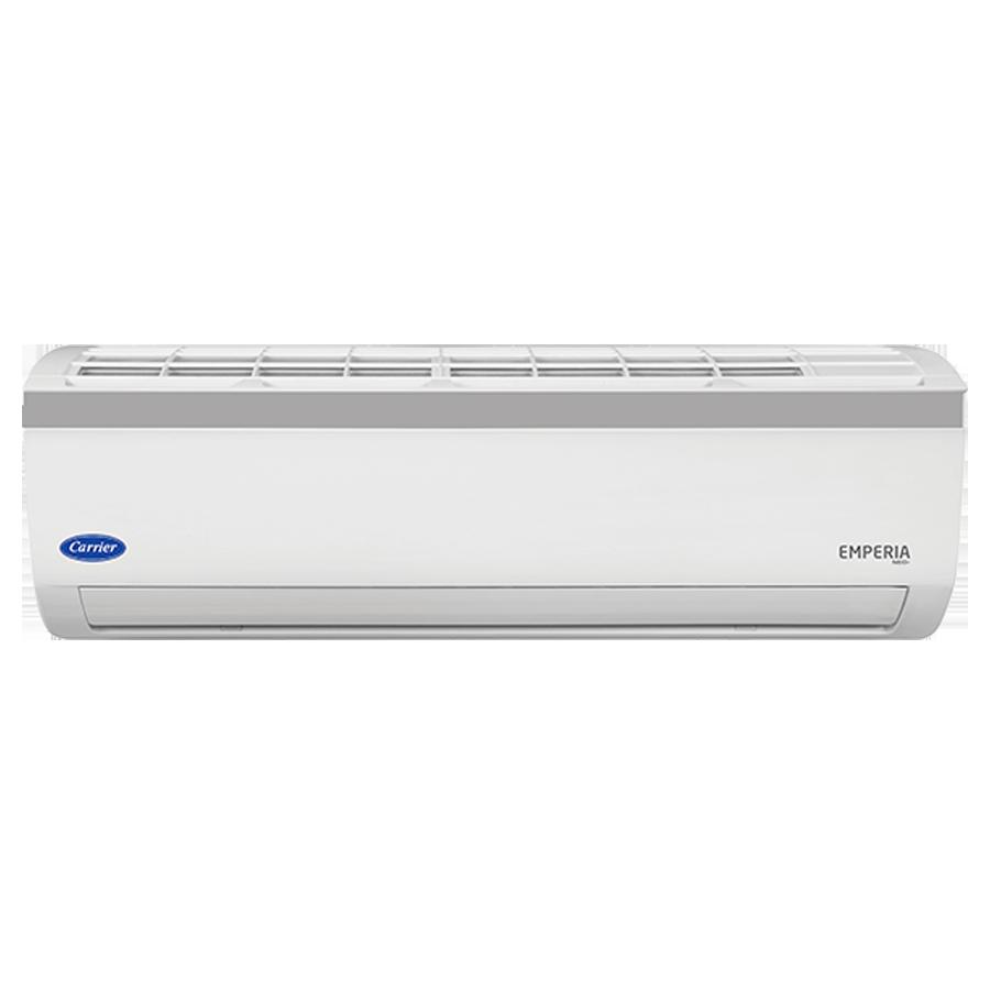 Carrier 1.5 Ton 3 Star Inverter Split AC (Emperia Neo Plus CAI18EN3R39F0+CI183R3CH90, Copper Condenser, White)_1