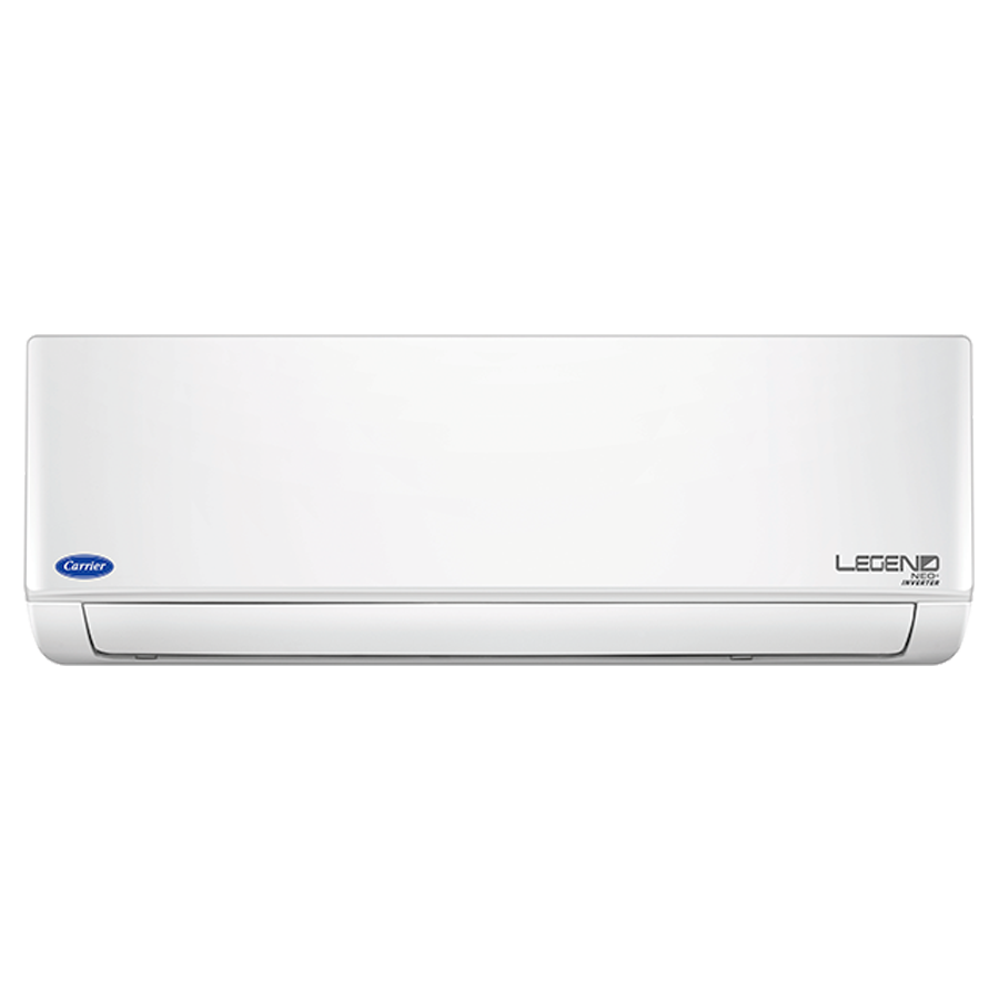 Carrier 1 Ton 3 Star Inverter Split AC (Legend Neo Plus CAI12LN3R39F0+CI123R3CC90, Copper Condenser, White)_1