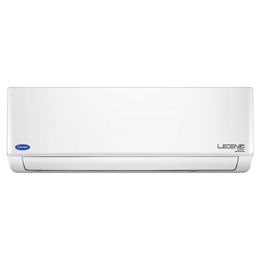 Carrier 2 Ton 3 Star Inverter Split AC (Legend Neo Plus CAI24LN3R39F0+CI243R3DC90, Copper Condenser, White)_1