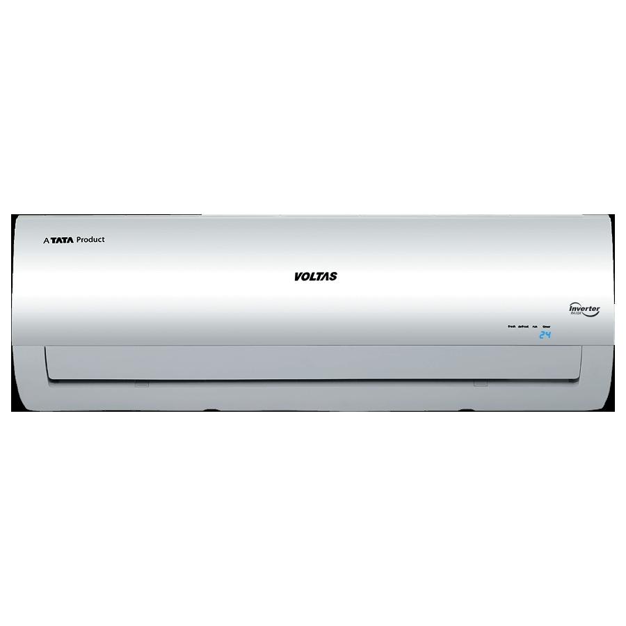 Voltas 1 Ton 3 Star Inverter Split AC (Air Purification Function, Copper Condenser, 123V CZTT, White)_1
