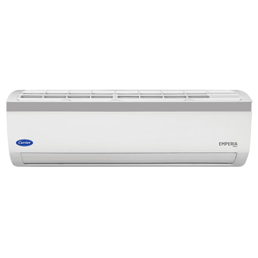Carrier 1 Ton 3 Star Inverter Split AC (Emperia Neo Plus CAI12EN3R39F0+CI123R3CH90, Copper Condenser, White)_1