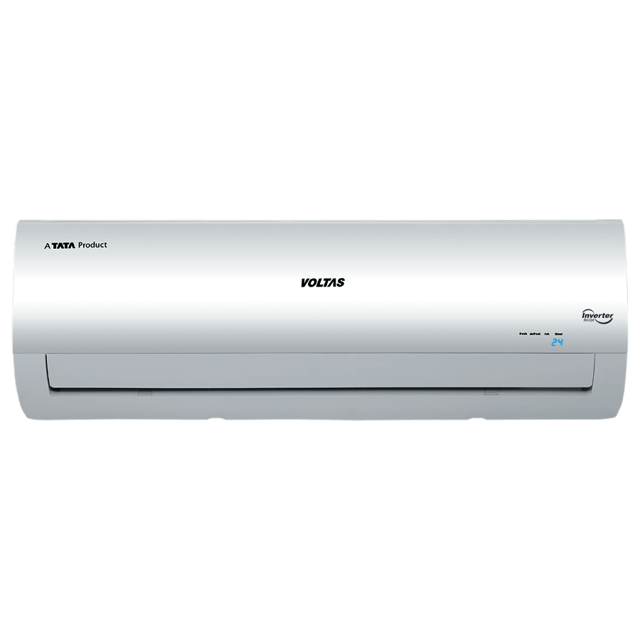 Voltas 1.5 Ton 3 Star Inverter Split AC (Air Purification Function, Copper Condenser, 183V CZTT, White)_1