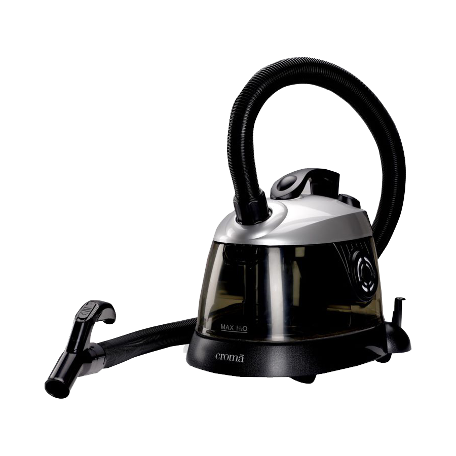 Croma Wet & Dry Vacuum Cleaner (CRAV0060, Black)_1