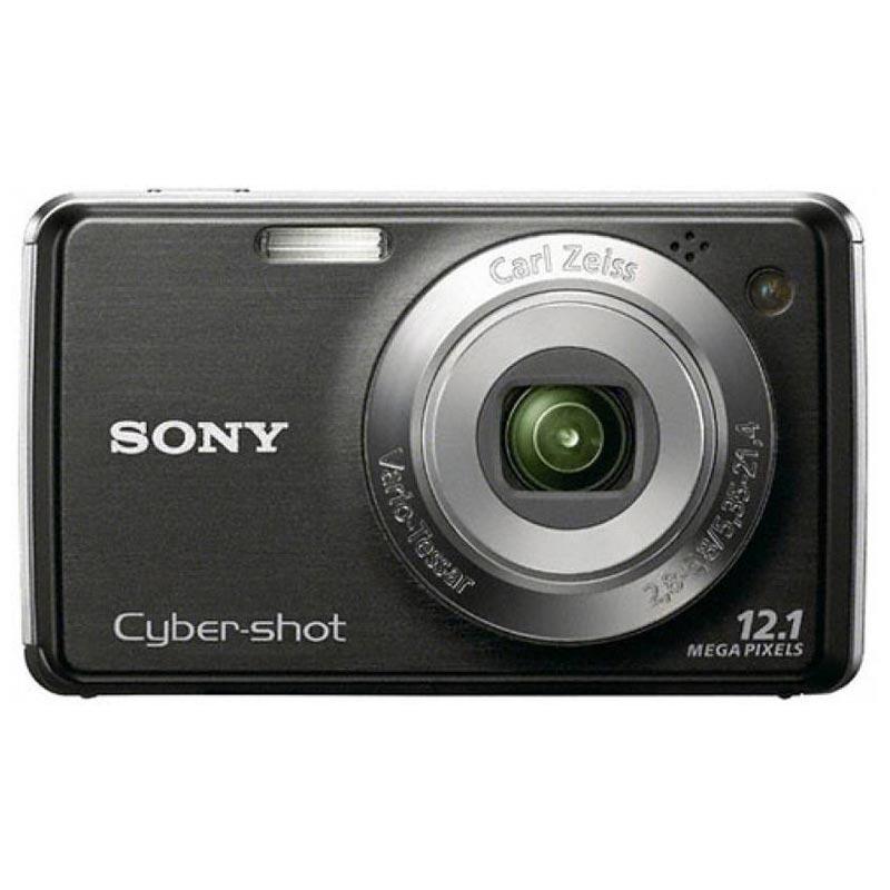 Sony Cyber Shot 12.1 MP Point & Shoot Camera (DSC-W210, Black)_1