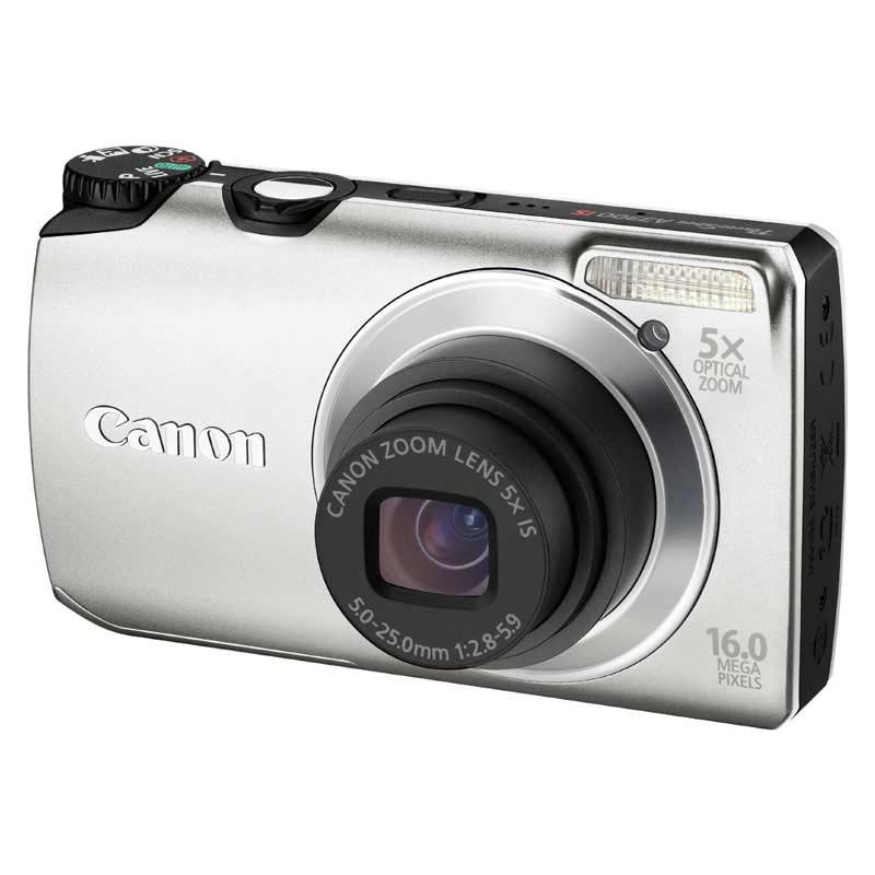 Canon PowerShot 16 MP Digital Camera (A3300, Silver)_1