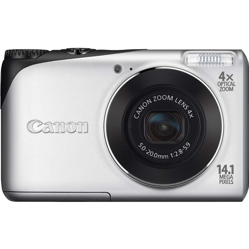 Canon PowerShot A2200 14.1 MP Point & Shoot Camera (4941B001, Silver)_1