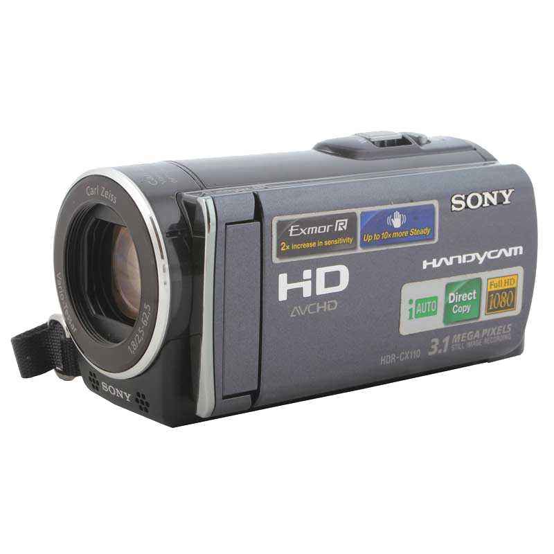 Sony 3.1 MP 16GB Flash Memory Camcorder (CX110, As Per Stock Availability)_1