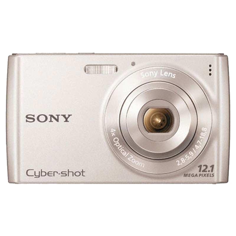 Sony Cyber Shot 12.1 MP Point & Shoot Camera (DSC-W510, Silver)_1