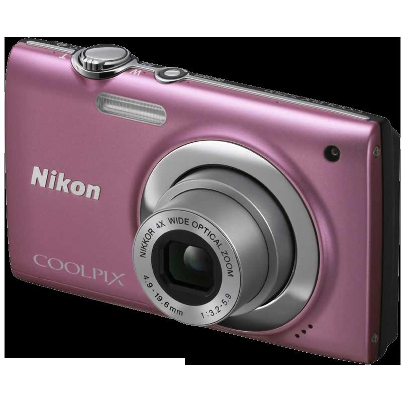 Nikon Coolpix 12 MP Digital Camera (S2500, Pink)_1