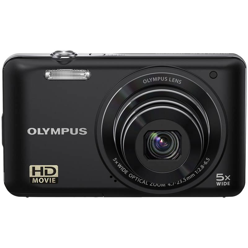 Olympus 14 MP Point & Shoot Camera (VG-120, Black)_1