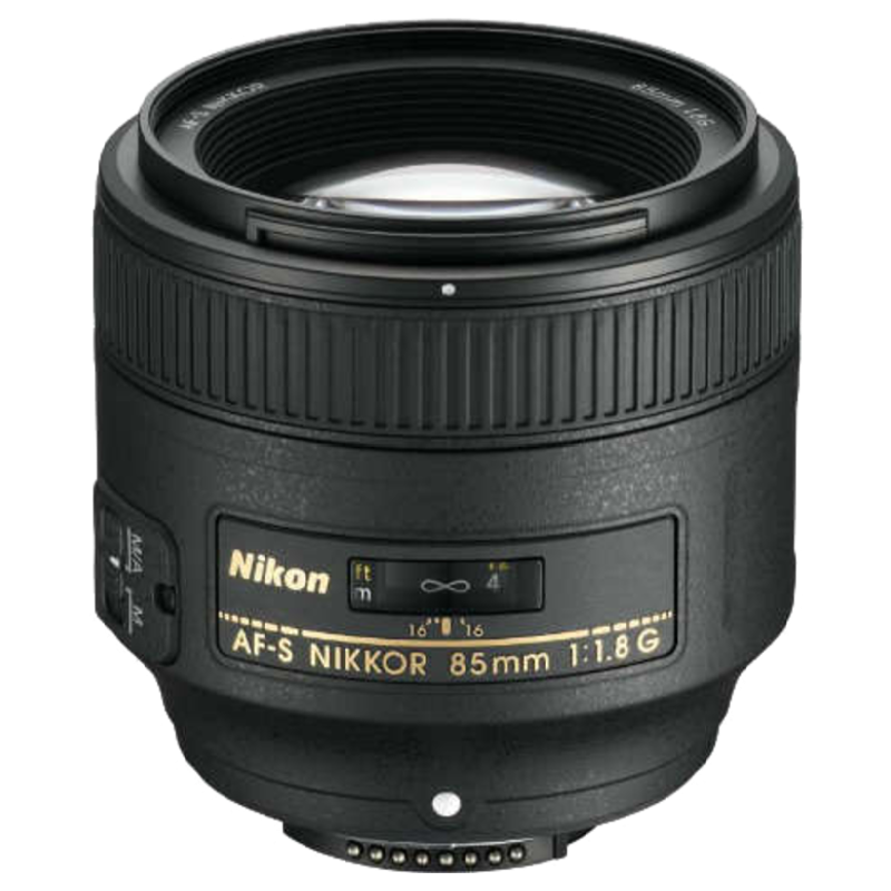 Nikon 85 mm F1.8-F16 Lens (JAA341DA, Black)_1