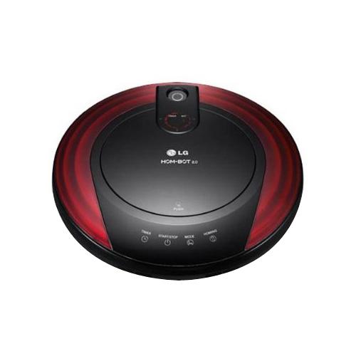 LG 1 Litre Robotic Vacuum Cleaner (VR6170LVM, Red)_1