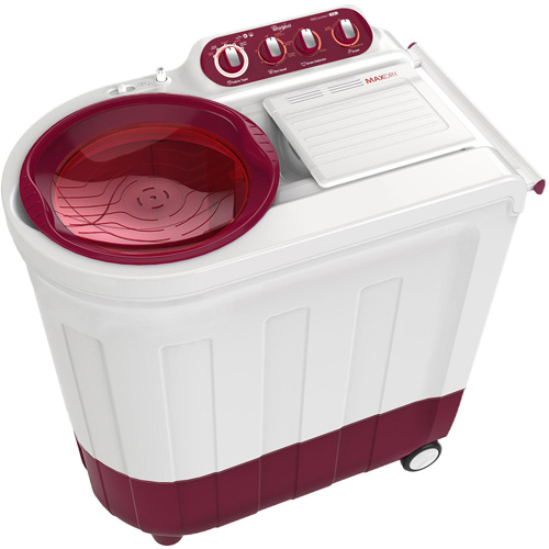 Whirlpool 7.2 kg Semi Automatic Top Loading Washing Machine (ACE 72 ROYALE, Red)_1