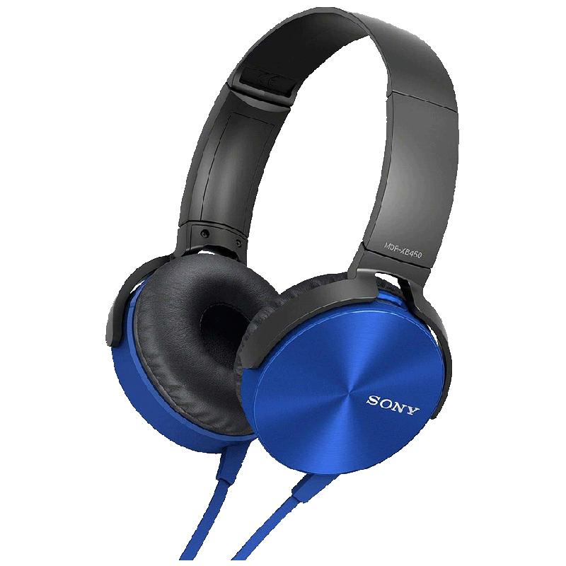 Sony MDR-XB450/L Extra Bass Headphone (Blue)_1