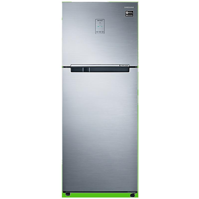 Samsung 345 L 3 Star Inverter Frost Free Double Door Refrigerator (RT37M5538S8, Inox, Convertible)_1