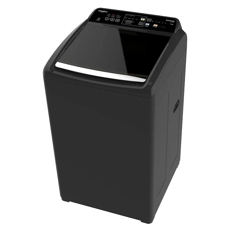 Whirlpool Stainwash Ultra 6.5 kg Fully Automatic Top Load Washing Machine (In Built Heater, Grey)_1