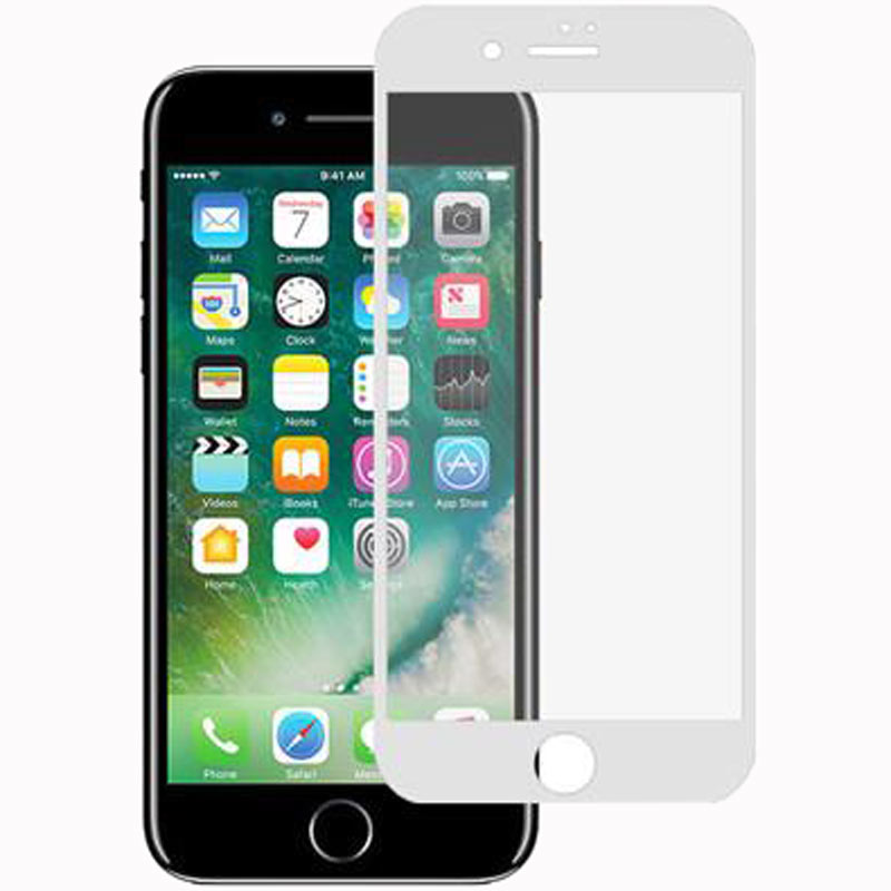 Stuffcool Mighty 3D Tempered Glass Screen Protector for Apple iPhone 7 (MGGP3DIP7, White)_1