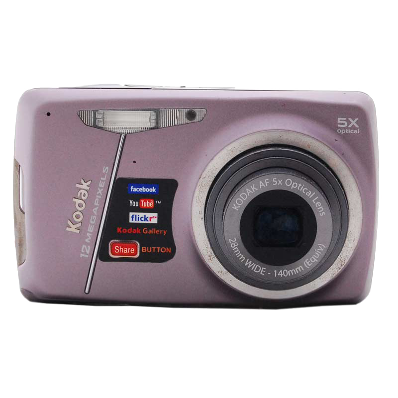 Kodak EasyShare 12.3 MP Point & Shoot Camera (M550, Purple)_1
