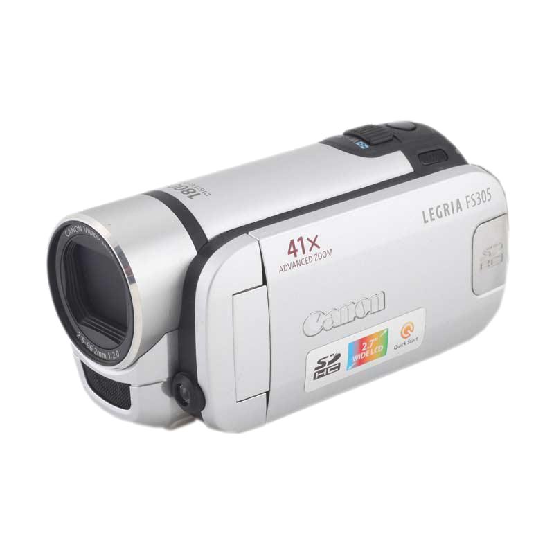 Canon 0.54 MP Camcorder (FS305, As Per Stock Availability)_1