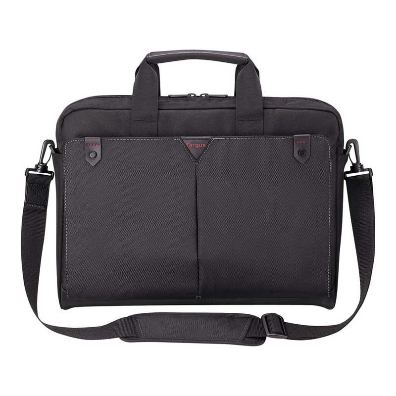 Targus Classic + Toploading 15 inch Laptop Slipcase (CN515AP-50, Black)_1