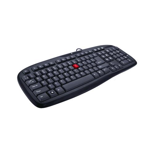 iBall Winner USB Standard Keyboard (Black)_1