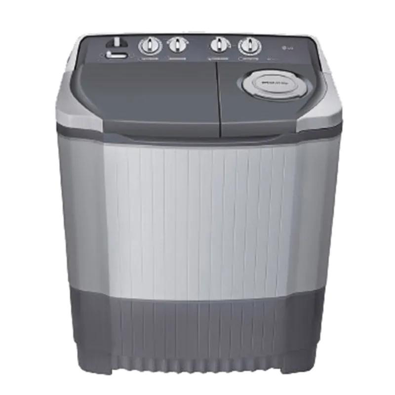 LG 6.5 kg Semi Automatic Top Loading Washing Machine (P7550R3FA, Dark Grey)_1