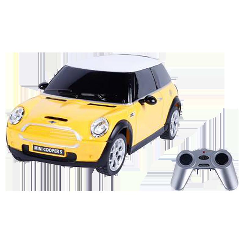 Rastar Mini Cooper 1:24 Remote Controlled Car (SW-586, Yellow)_1