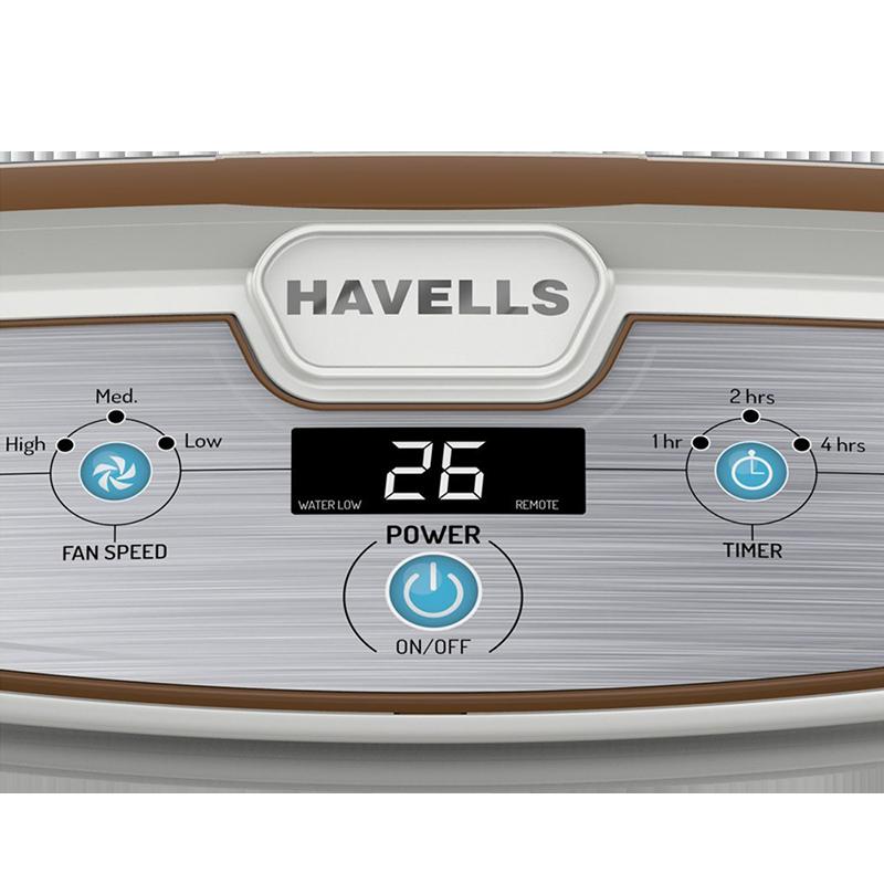 Havells 70 Litres Desert Air Cooler (Freddo I, White)_4