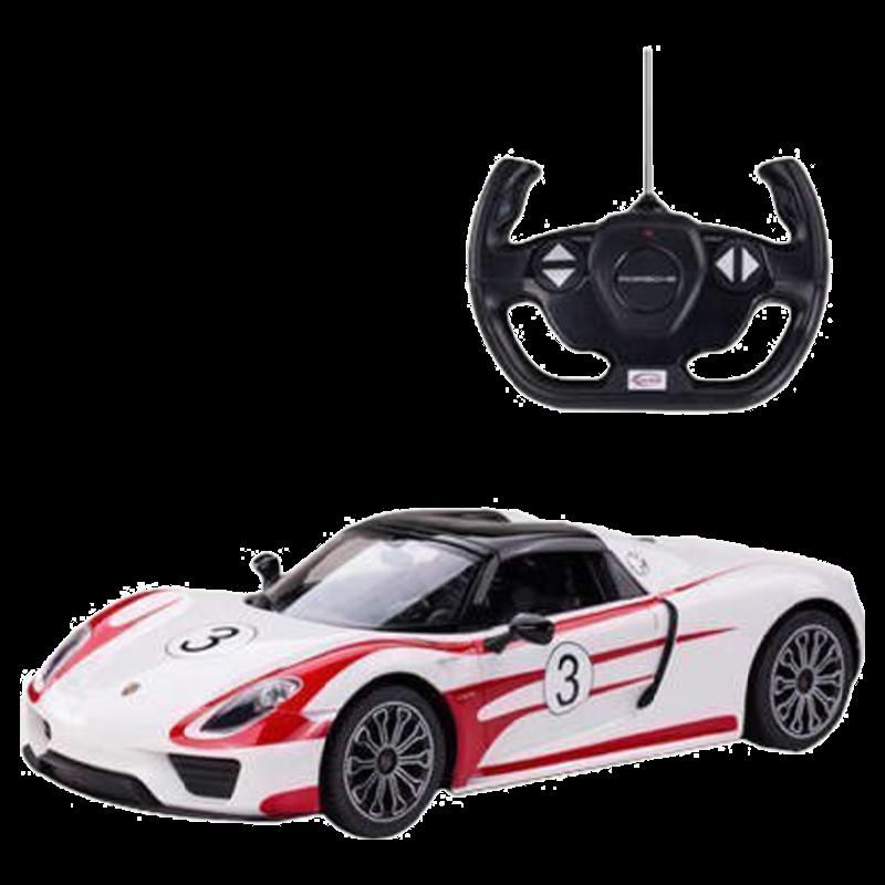 Rastar 918 Spyder 1:14 Remote Controlled Car (SW-584, White)_1